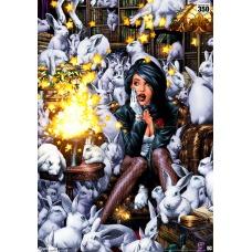 DC Comics: Zatanna Unframed Art Print - Sideshow Collectibles (EU)