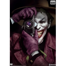 DC  The Joker Unframed Art Print - Sideshow Collectibles (EU)