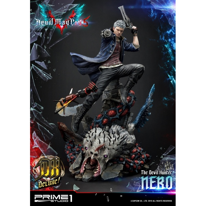Devil May Cry 5: Deluxe Nero 28 inch Statue Prime 1 Studio Product