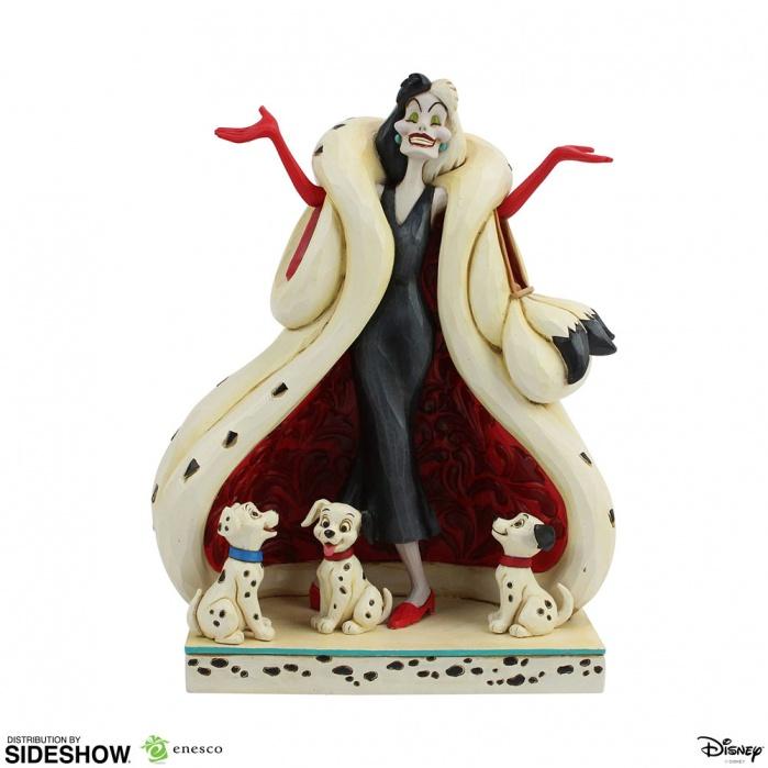 Disney: 101 Dalmatians - Cruella de Vil Figurine Sideshow Collectibles Product
