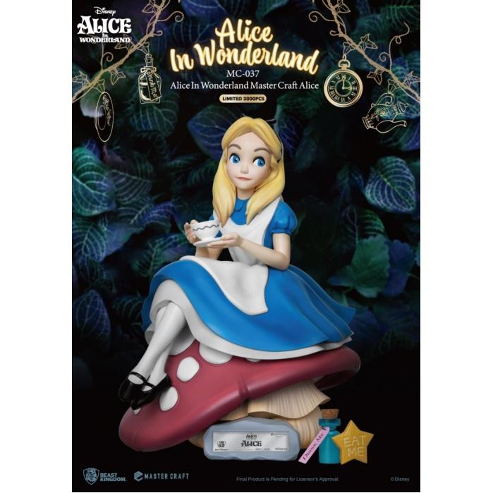 Disney: Alice in Wonderland - Master Craft Alice Statue Beast Kingdom Product