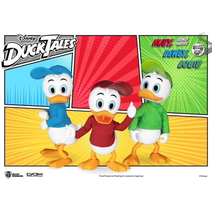 Disney: DuckTales - Huey Dewey and Louie 1:9 Scale Figure Set Beast Kingdom Product