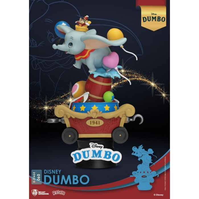 Disney: Dumbo PVC Diorama Beast Kingdom Product