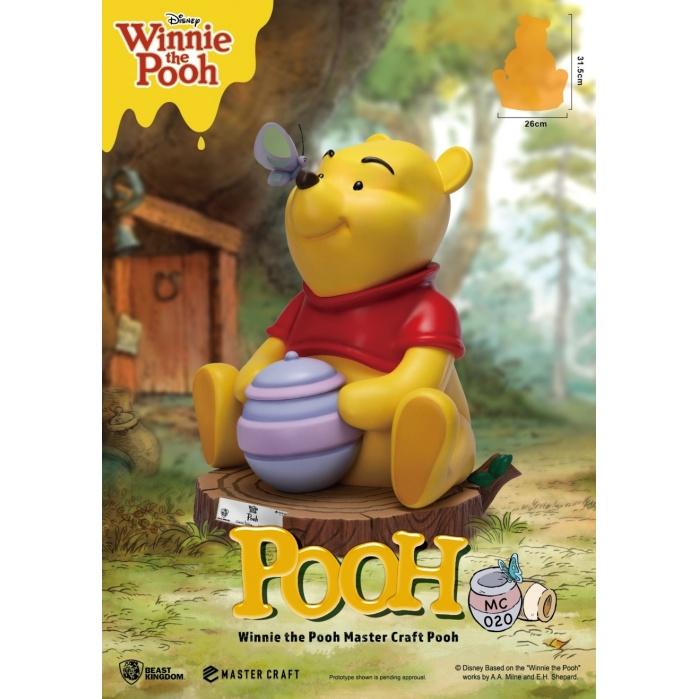 Disney: Master Craft Winnie the Pooh Statue Beast Kingdom Product
