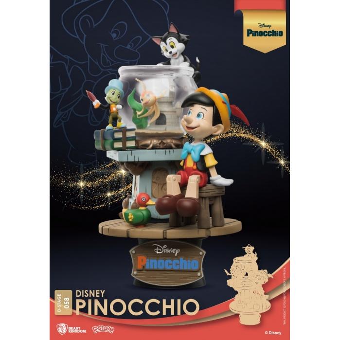 Disney: Pinocchio PVC Diorama Beast Kingdom Product