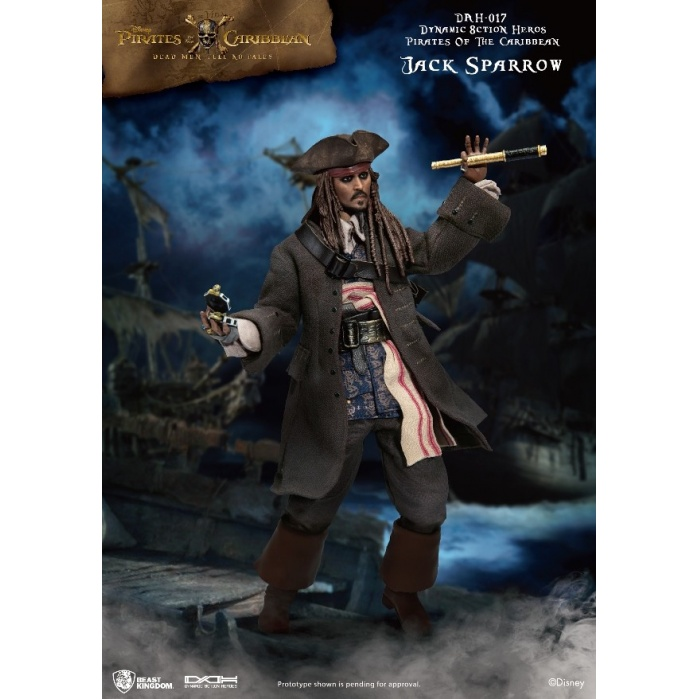 Disney: Pirates of the Caribbean - Captain Jack Sparrow 1:9 Scale Action Figure Beast Kingdom Product