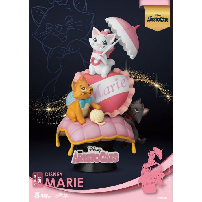 Disney: The Aristocats - Marie PVC Diorama Beast Kingdom Product