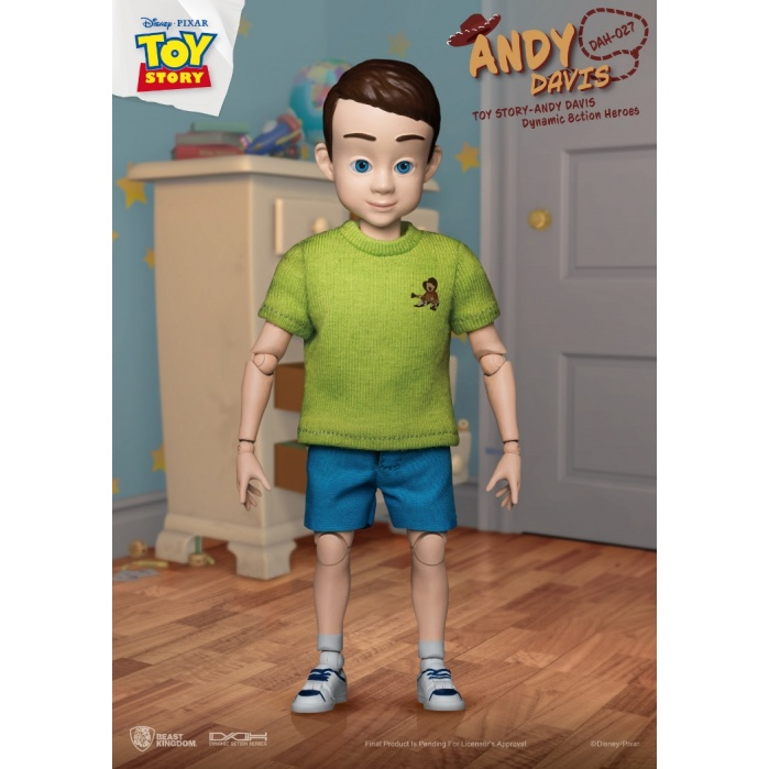 Disney: Toy Story - Andy Davis 1:9 Scale Action Figure Beast Kingdom Product