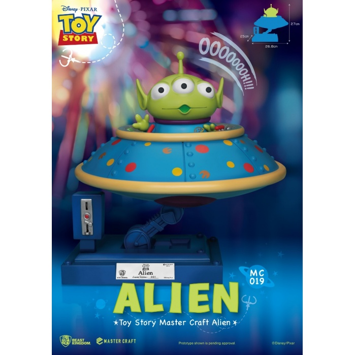 Disney: Toy Story - Master Craft Alien Statue Beast Kingdom Product