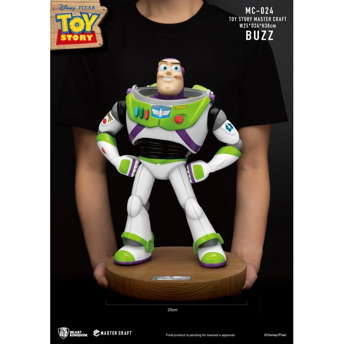 Disney: Toy Story - Master Craft Buzz Lightyear Statue Beast Kingdom Product