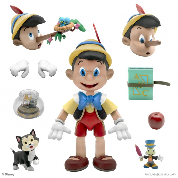 Disney: Ultimates - Pinocchio 7 inch Action Figure Super7 Product