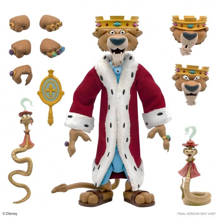 Disney: Ultimates - Prince John 7 inch Action Figure Super7 Product