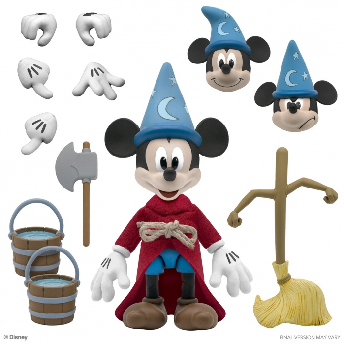 Disney: Ultimates - Sorcerer's Apprentice Mickey 7 inch Action Figure Super7 Product