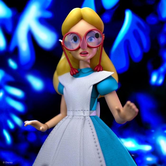 Disney: Ultimates Wave 2 - Alice in Wonderland 7 inch Action Figure Super7 Product