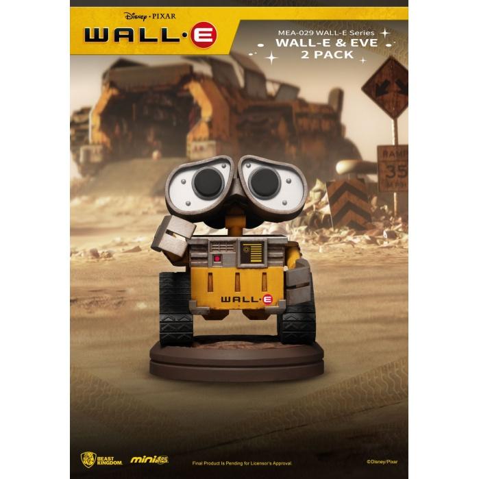 Disney: Wall-E Series - Wall-E and Eve 2-pack 3 inch Figure Beast Kingdom Product