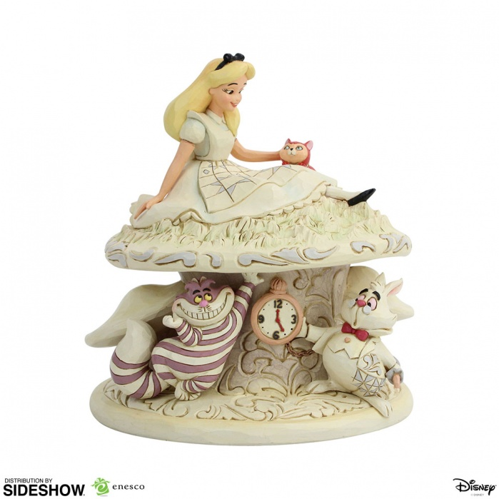 Disney: White Woodland Alice in Wonderland PVC Statue Sideshow Collectibles Product