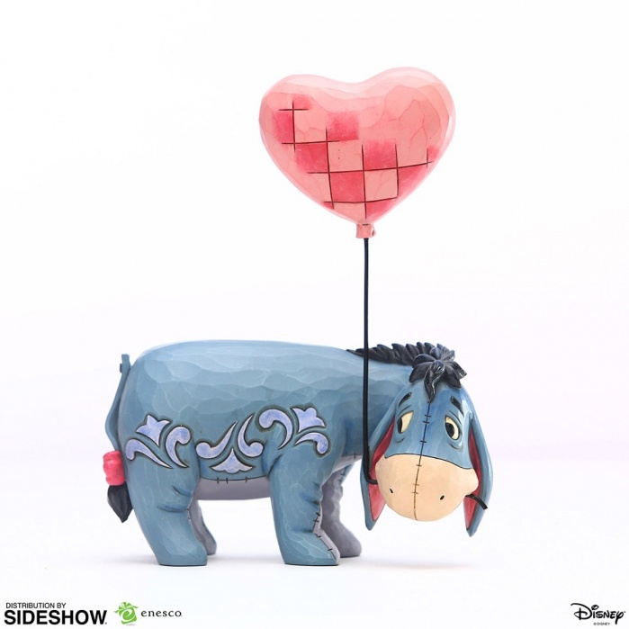 Disney: Winnie the Pooh - Eeyore with a Heart Balloon PVC Statue Sideshow Collectibles Product