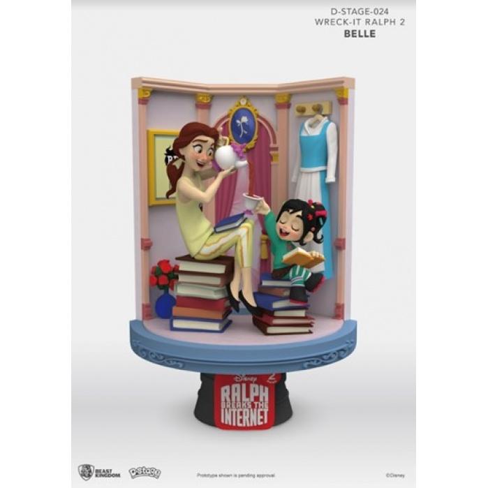 Disney:Wreck-It Ralph 2 - Belle PVC Diorama Beast Kingdom Product
