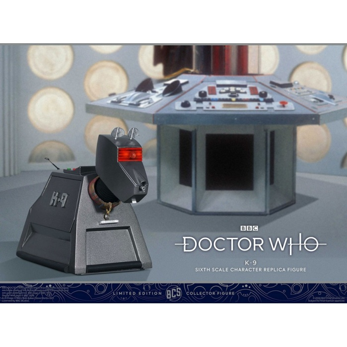 Doctor Who: K-9 Mark II 1:6 Scale Figure Big Chief Studios Product