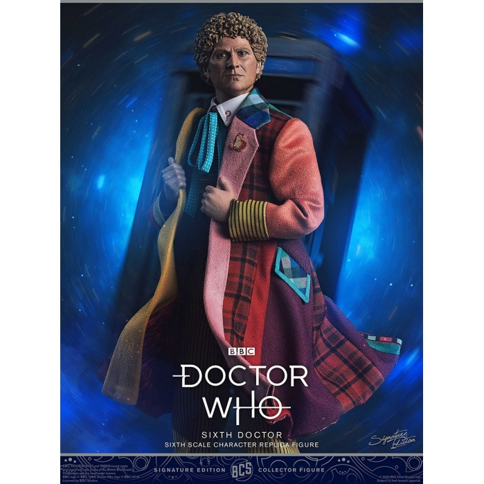 Doctor Who: Sixth Doctor 1:6 Scale Figure Big Chief Studios Product