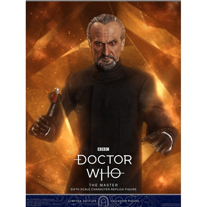 Doctor Who: The Master - Roger Delgado 1:6 Scale Figure Big Chief Studios Product