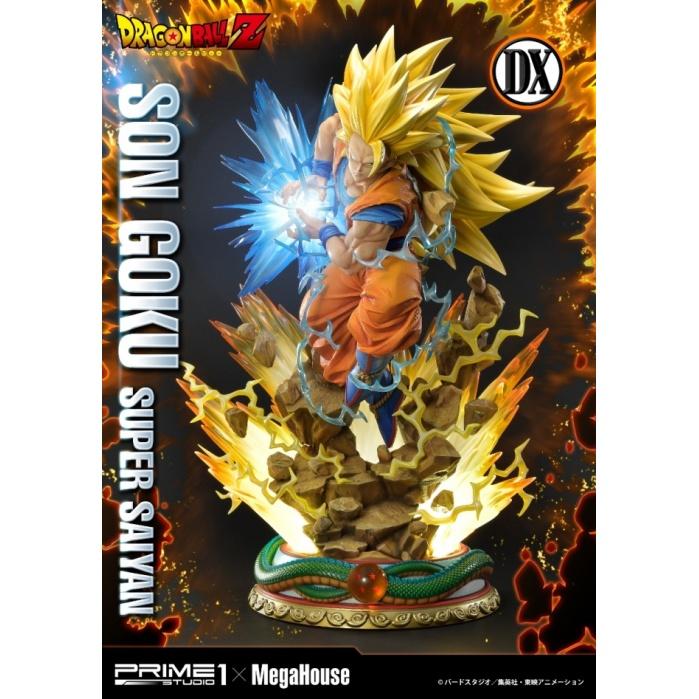 Dragon Ball Z: Deluxe Super Saiyan Goku 25 inch Statue Prime 1 Studio Product