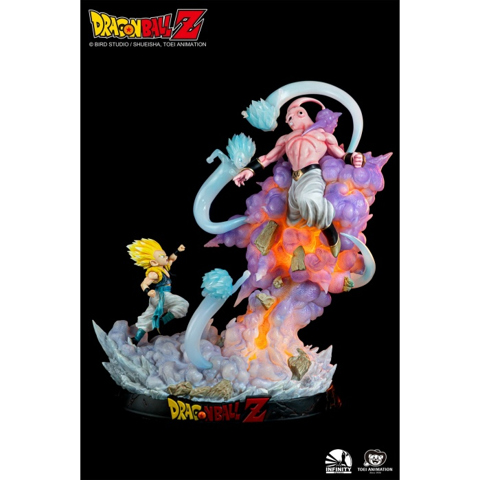 Dragon Ball Z: Gotenks vs. Majin Buu 1:6 Scale Statue Infinity Studio Product