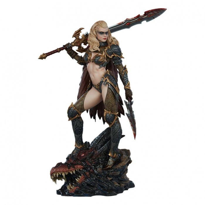 Dragon Slayer: Warrior Forged in Flame Statue Sideshow Collectibles Product