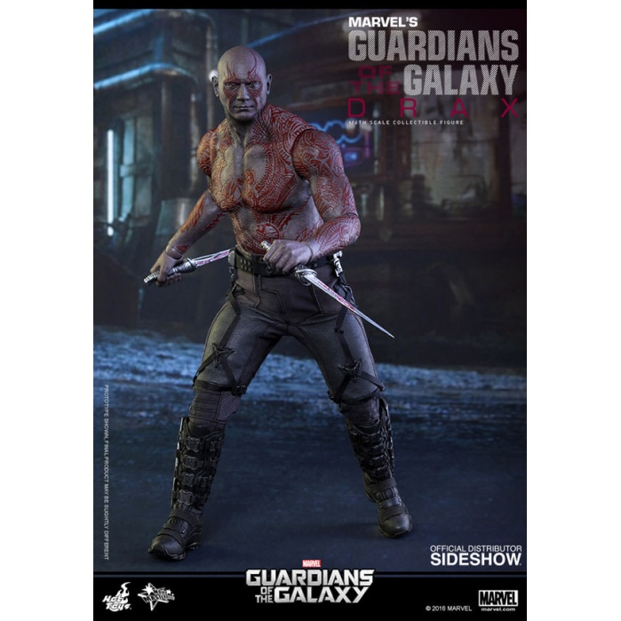 Drax 1/6  the Destroyer Guardians of the Galaxy Hot Toys Product