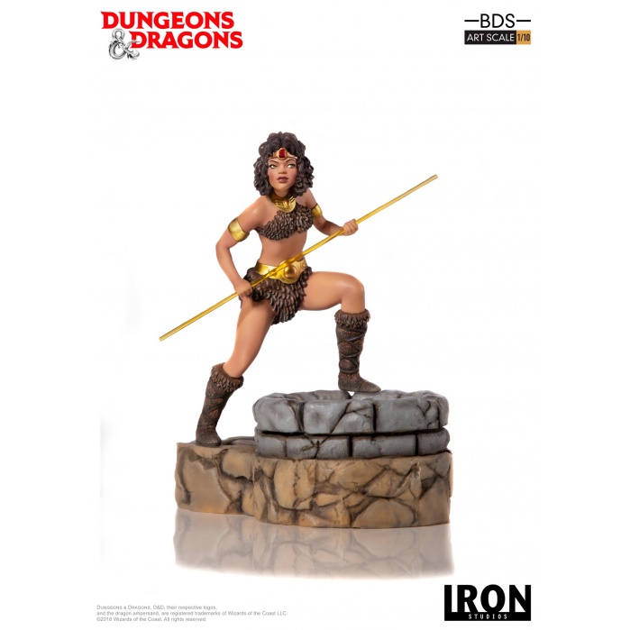 Dungeons and Dragons: Diana the Acrobat 1:10 Scale Statue Iron Studios Product