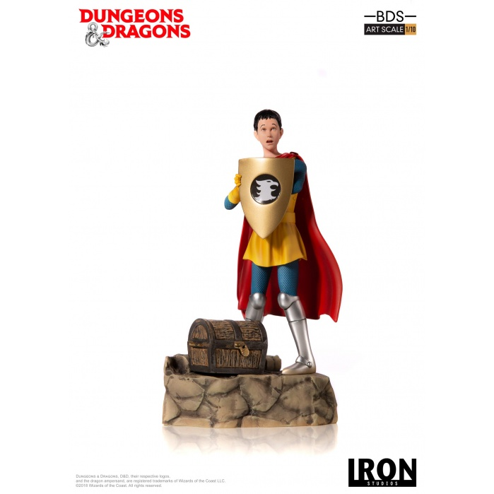 Dungeons and Dragons: Eric the Cavalier 1:10 Scale Statue Iron Studios Product