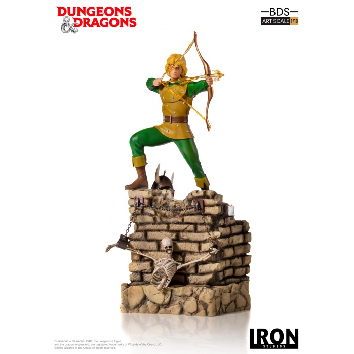 Dungeons and Dragons: Hank the Ranger 1:10 Scale Statue Iron Studios Product