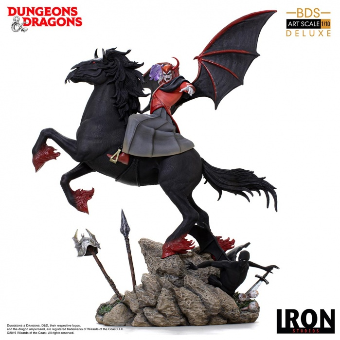 Dungeons and Dragons: Venger with Nightmare and Shadow Demon Statue Iron Studios Product