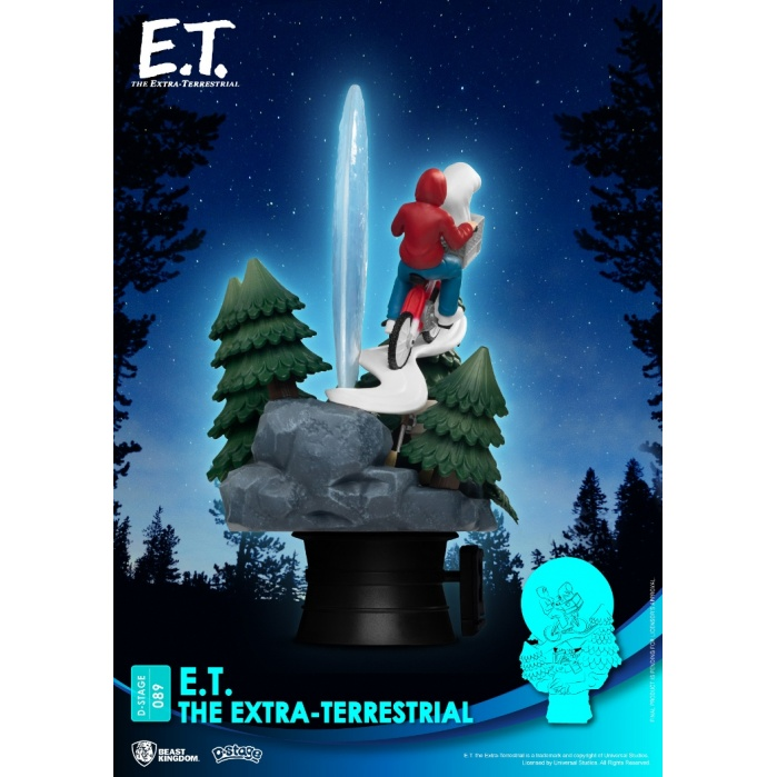 E.T. the Extra-Terrestrial: E.T. PVC Diorama Beast Kingdom Product