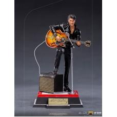 Elvis Presley: Elvis 1968 Comeback Deluxe Art Scale 1:10 Statue   Iron Studios