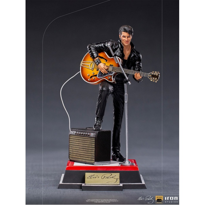 Elvis Presley: Elvis 1968 Comeback Deluxe Art Scale 1:10 Statue Iron Studios Product