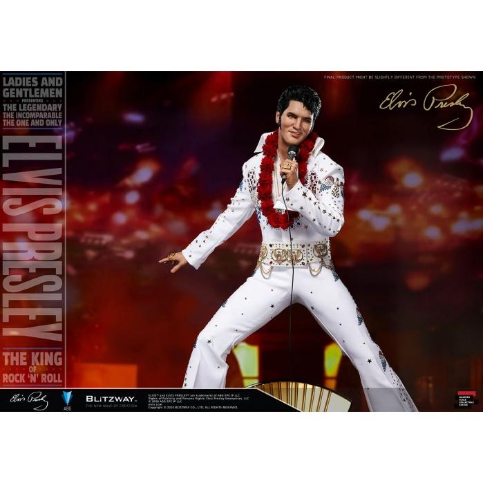 Elvis Presley: Elvis Aaron Presley 1:4 Scale Statue Blitzway Product