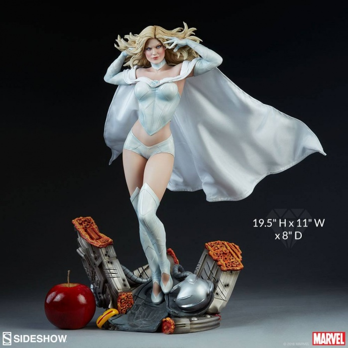 Emma Frost 1/4  Premium Format Statue Sideshow Collectibles Product