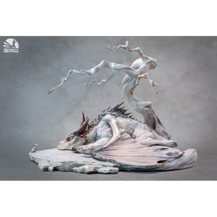 Encounter of Mouse and Dragon under Withered Tree Infinity Studio Product