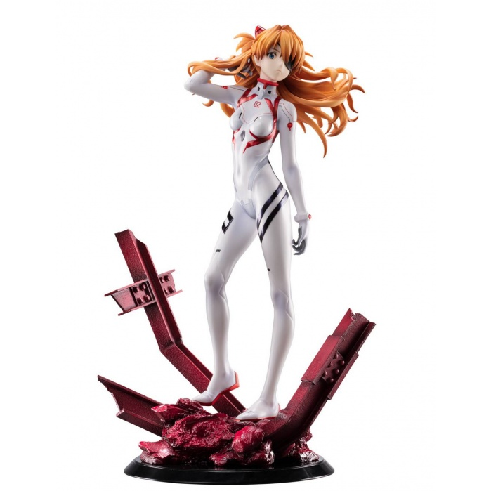 Evangelion: 3.0+1.0 Thrice Upon a Time - Asuka Shikinami Langley 1:7 Scale PVC Statue Goodsmile Company Product