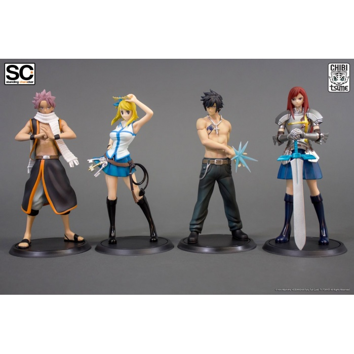 Fairy Tail Standing Characters Tsume-Art Product
