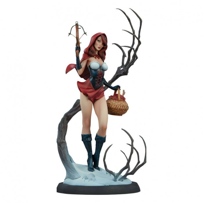 Fairytale Fantasies Collection Statue Red Riding Hood Sideshow Collectibles Product