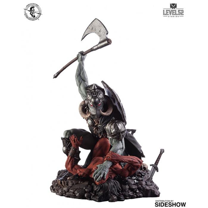 Frank Frazetta: Death Dealer 1:6 Scale Statue Level 52 Studios Product