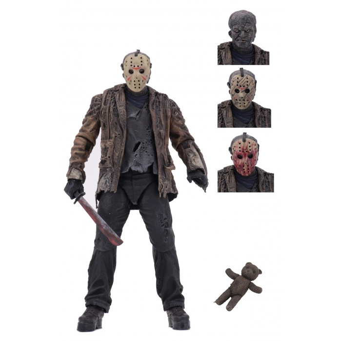 Freddy vs Jason: Ultimate Jason Voorhees 7 inch Action Figure NECA Product