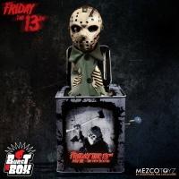 Friday the 13th Burst-A-Box Music Box Jason Voorhees Mezco Toyz Product