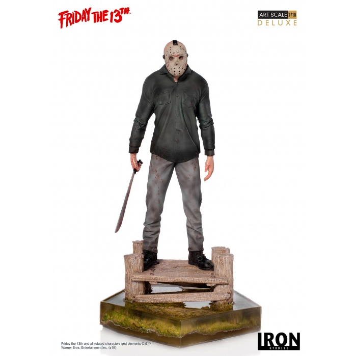 Friday the 13th: Deluxe Jason 1:10 Scale Statue Iron Studios Product