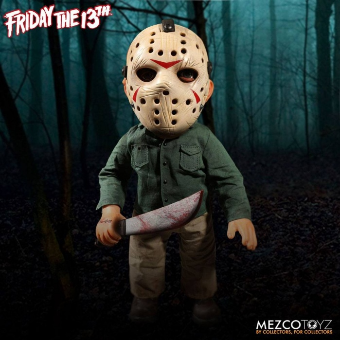 Friday the 13th Figure with Sound Jason Voorhees Mezco Toyz Product