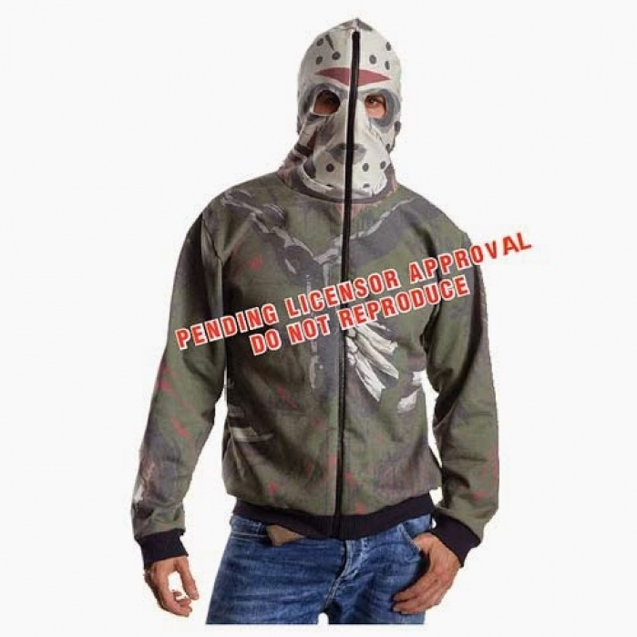 Friday the 13th Hooded Sweater Jason Voorhees Rubie's Product