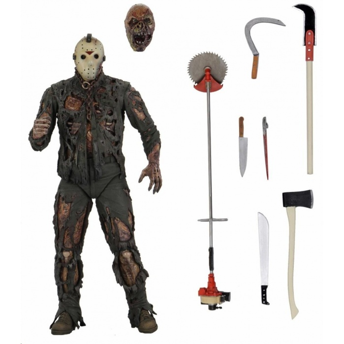 Friday the 13th Part 7: Ultimate New Blood Jason 7 inch Action Figure NECA Product
