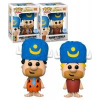 Funko POP! The Flintstones - Fred Flintstone & Barney Rubble (Stone Lodge) - Limited Funko Shop Exclusive - New - Funko (EU) Funko Product